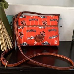 NWT Dooney and Bourke MLB SF Giants crossbody